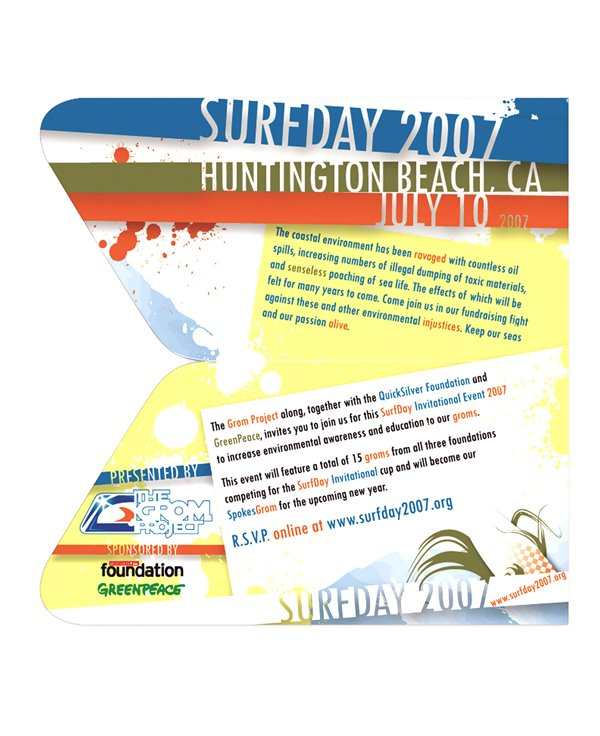 Surfday Invitation