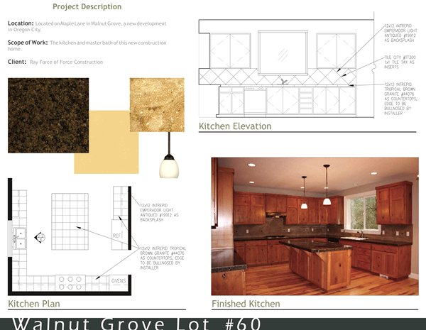 Walnut Grove Kitchen Plan