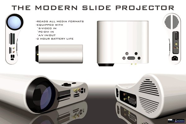 The Modern Slide Projector