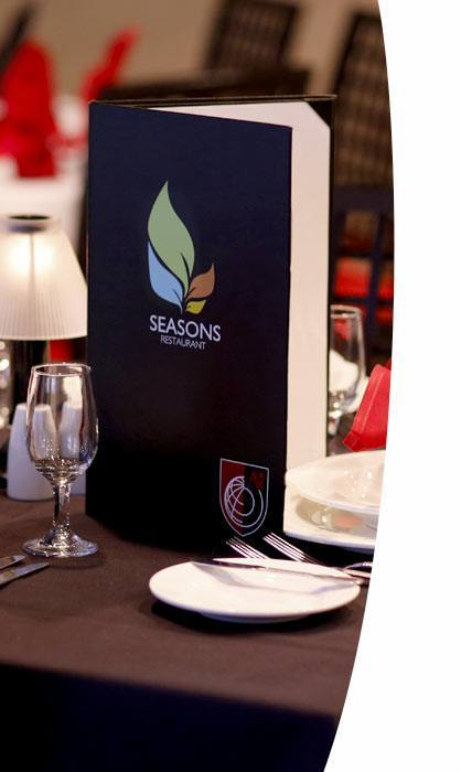 Seasons Restaurant  - desktop