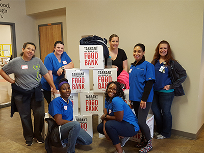 Brown Mackie College - Dallas/Ft. Worth Surgical Technology Club Gives Back to the Community
